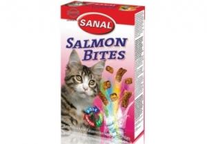 Sanal Хапки със сьомга за котки - Salmon Bites