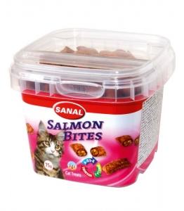 Sanal Хапки със сьомга за котки - Salmon Bites in cup