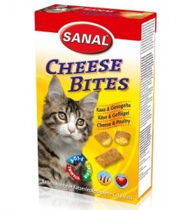 Sanal Хапки със сирене за котки - Cheese Bites Кутия