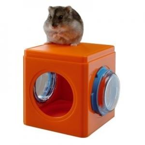 Ferplast Cube fri4836 - къщичка за гризачи 12,5 / 9,5 / 10,5 cm Оранжева 1