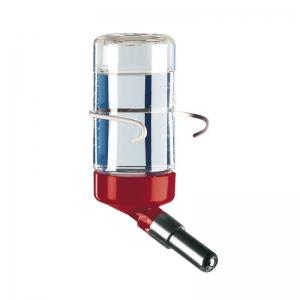 Ferplast Drinky 75 l180 - кръгла поилка с метално захващане / синя, червена, бяла / 7 / 4 / 11 cm - 0,075 L 1