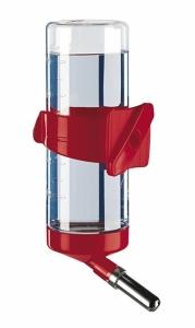 Ferplast fpi4663 Drinky 600 - кръгла поилка за гризачи / червена, бяла, синя / 11 / 6,5 / 24,5 cm - 0,6 L 1