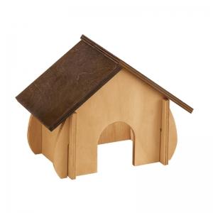 Ferplast sin4650 - дървена къщичка за гризачи 41 / 23,6 / 27,4 cm 1