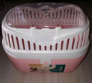 Ferplast Aladino medium - транспортна чанта за дребни животни / 30 / 23 / 21 cm Розова