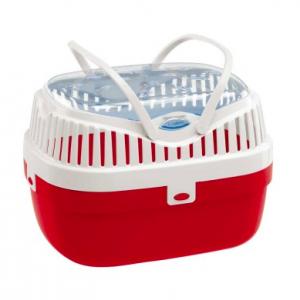 Ferplast Aladino medium - транспортна чанта за дребни животни / 30 / 23 / 21 cm Червена