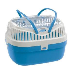 Ferplast Aladino medium - транспортна чанта за дребни животни / 30 / 23 / 21 cm Синя