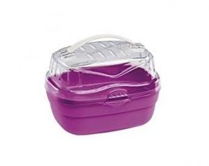 Ferplast Aladino small - транспортна чанта за дребни животни - 20 / 16 / 13,5 cm Лилава