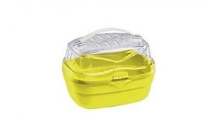Ferplast Aladino small - транспортна чанта за дребни животни - 20 / 16 / 13,5 cm Жълта