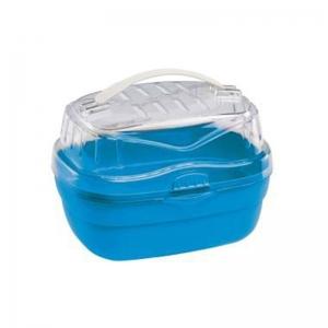 Ferplast Aladino small - транспортна чанта за дребни животни - 20 / 16 / 13,5 cm Синя