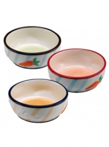 Ferplast Rabbit bowl pa1089 - керамична купичка за гризачи Ø 12.7 / 4.8 cm - 0.36 L