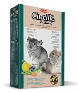 Padovan GrndMix Cincilla - пълноценна храна за чинчили 850 гр.