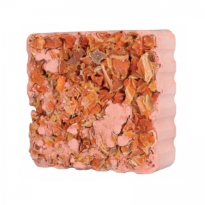 Trixie Gnawing Stone with Carrot Cubes - Минерален камък с моркови за гризачи 75 гр.
