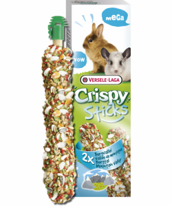 Versele-Laga - Mega Sticks Rabbits Mountain valley - Мега стик за зайци планинска долина - опаковка 140 гр (2 бр. х 70 гр)