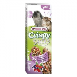 Versele-Laga - Sticks Rabbits Forest Fruit - Стик за зайци с горски плодове - опаковка 100 гр (2 бр. х 55 гр)