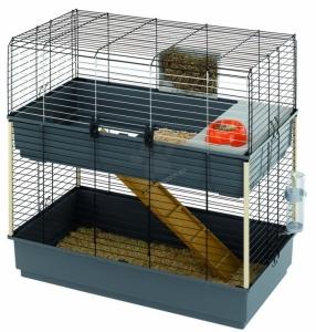 Ferplast - Cage Rabbit 100 Double - клетка за зайци 99 / 51.5 / 92 cm