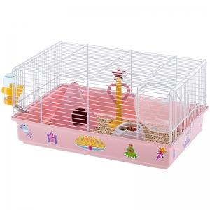 Ferplast Cage Criceti 9 Princess - клетка за мини хамстери и хамстери с пълно оборудване 46 / 30 / 23 см