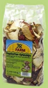 JR Farm Лакомство за гризачи - чипс от шипки и ябълки, 125 гр.
