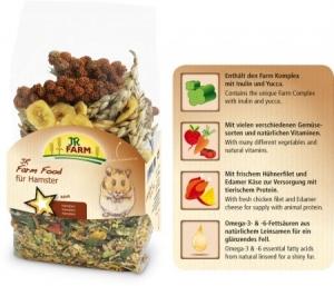 JR Farm Пълноценна храна за хамстери - 500 гр.