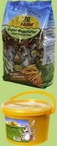 JR Farm Пълноценна храна за мини зайци - 1 кг.
