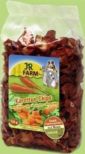 JR Farm Натурални резенчета от моркови за гризачи - 125 гр.