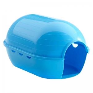 Savic Rody Iglo Къщичка за мини зайче, морско свинче или фретка - синя 1