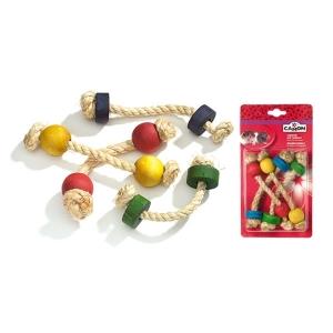 Camon Играчка за гризачи - въжета