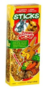 Hagen Living World Кракер със зеленчуци за мини зайчета - 112гр