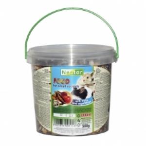 Nestor Храна за малки гризачи с плодове и зеленчуци 1000 мл