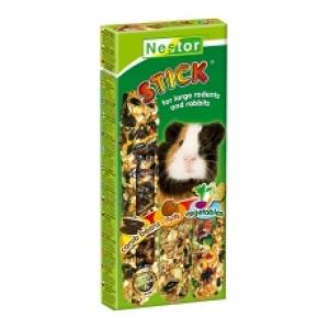 Nestor Крекер за големи гризачи 3в1 с ядки, зърна и зеленчуци - 3 бр