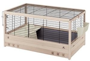 Ferplast - CAGE ARENA 80 BLACK клетка за зайци - размер 82 x 52 x 45,5 см