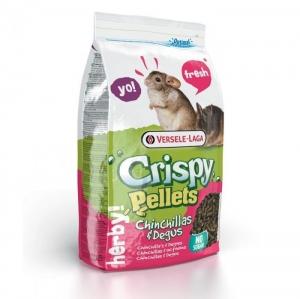 Versele-Laga - Crispy Pellets - Chinchillas & Degus Храна за чинчили - опаковка 1 кг.