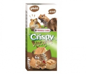 Versele-Laga - Crispy Biscuit Small Animals Nuts Снакс за мишки - опаковка 70 г (6 бр.)