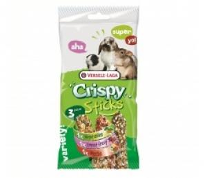 Versele-Laga - Sticks Triple Variety Pack Herbivores Хранителна добавка за декоративни зайци - опаковка 165 г