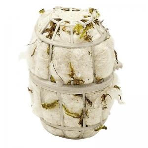 Ferplast fpi4464 - eстествен памук за гнезда 8,1 / 10 cm - ø 7 cm