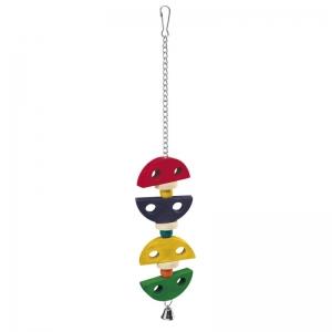 Ferplast Parrot Toy pa4095 - дървена играчка за папагали 7,2 / 1,5 / 43 cm
