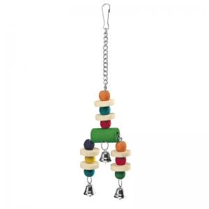Ferplast Parrot Toy pa4092 - дървена играчка за папагали 9 / 3 / 32 cm