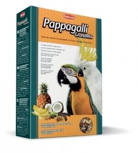 Padovan Grandmix Pappagalli Пълноценна храна с плодове за големи папагали 1