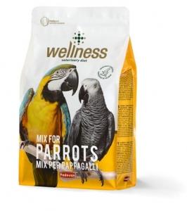 Padovan Wellness Mix for Parrots Премиум храна за големи папагали 1