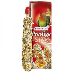 Versele-Laga - Sticks Big Parakeets Nuts & Honey - стик за средни папагали с ядки и мед - опаковка 140 г (2 бр. х 70 гр.)