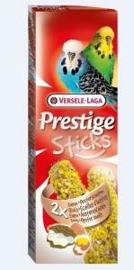 Versele-Laga - Budgies Eggs & Oyster shells - стик за вълнисти папагали с яйца и черупки от стриди - опаковка 60 г (2 бр.х 30 гр)