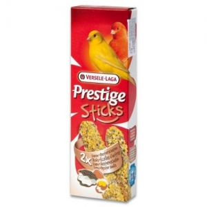 Versele-Laga - Sticks Canaries Eggs & Oyster shells - стик за канари с яйца и черупки от стриди - опаковка 60 г (2 бр.х 30 гр)