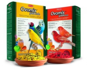 Padovan Ovomix gold хранителна добавка за птици - червена, 1 кг.
