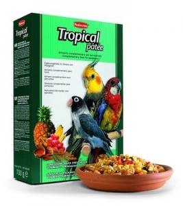 Padovan Тропически плодове за средни папагали - 700 гр.