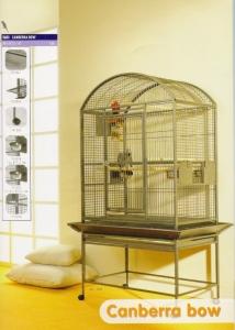 Savic Canberra bow Клетка с пълно оборудване за големи папагали