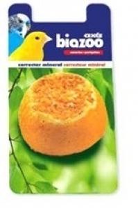 Biozoo Портокалово минерално камъче, предназначено за канарчета и вълнисти папагалчета