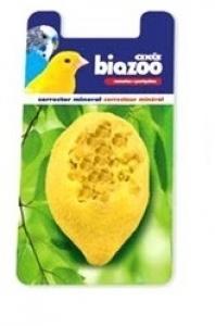 Biozoo Лимоново минерално камъче, предназначено за канарчета и вълнисти папагалчета