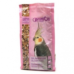 Benelux PRIMUS parakeets - първокласна храна за всички видове средни папагали, 1 кг.