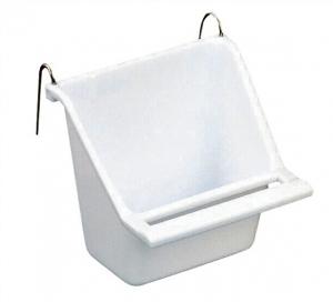 Hagen Living World Пластмасова Хранилка за птици, Бяла - Seed Cup - Medium 112 g, 130 ml 1