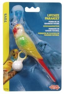 Hagen Living World Пластмасова играчка за птици - Цветен Папагал 1