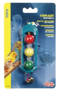 Hagen Living World Пластмасова играчка за птици - Светофар